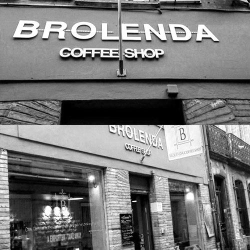 Cafés Di•Costanzo, torréfacteurs L'isle Jourdain - Nos clients - Le Brolenda